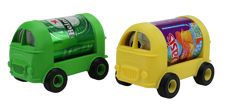 Mini Canvan Can-look: objet déco en canette