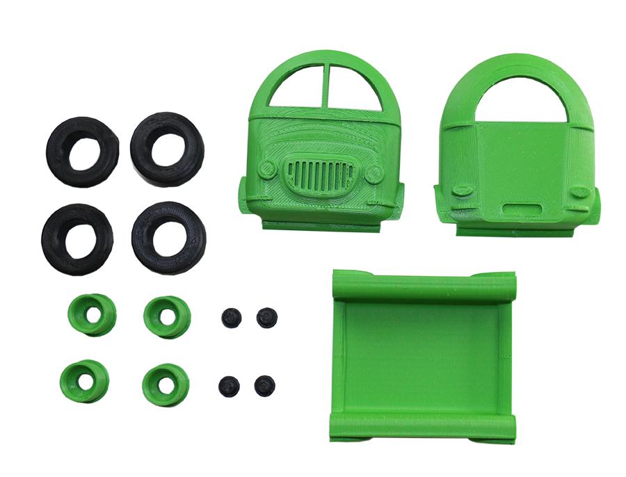Pièces 3d pour Mini Canvan Can-look