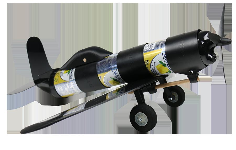 Avion Airpack Canlook avec son train d'atterrissage classique
