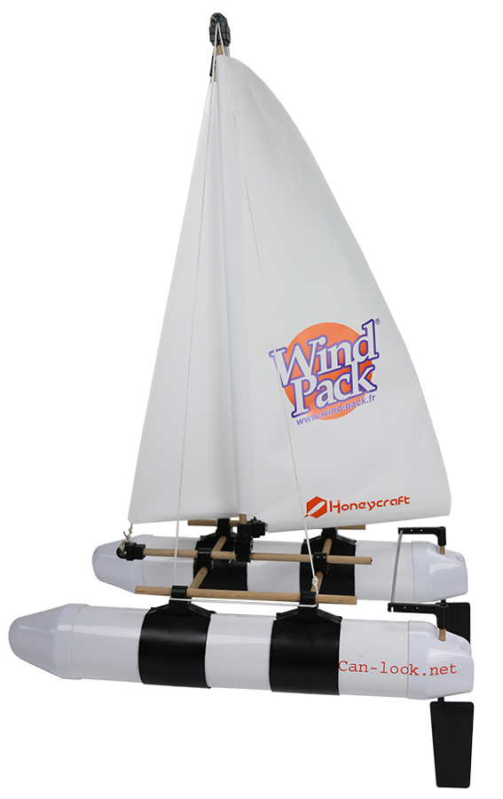 Bateau Windpack Can-look avec options