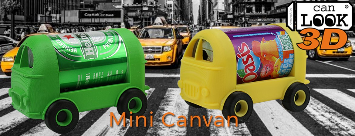 Fichiers pour impression 3D du Mini Canvan de Can-look